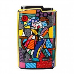 Britto - Vase Cheek To Cheek