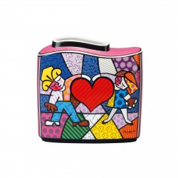 Britto - Vase Heart Kids