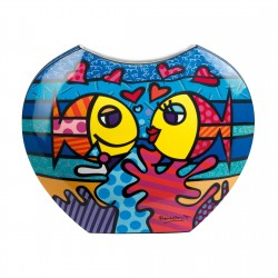 Britto - Vase Deeply In Love