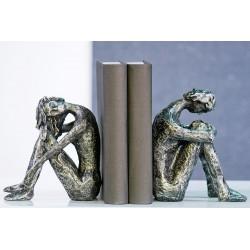 Skulpturen - Buchstützen 2-er Set