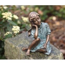 Bronzefiguren - Mädchend