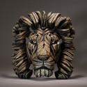 Edge Sculpture - Lion Bust Savannah