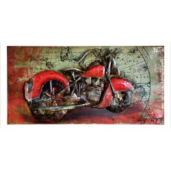Metallbild - Easy Rider NEU