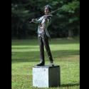 Bronzefiguren - Geigenspieler gross
