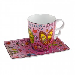 James Rizzi - Mug Peace Of Love
