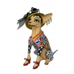 Tom's Drag - Chihuahua Frida L sitzend
