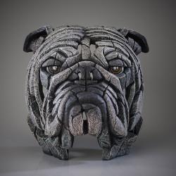 Edge Sculpture - Bulldog Bust white NEU