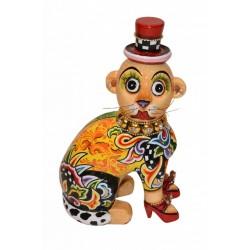 Tom's Drag - Madagaskar-Äffchen Maurice m. rotem Hut