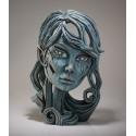 Edge Sculpture - Elf Bust Aqua