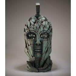 Edge Sculpture - Spartan Bust Verdi-Gris NEU