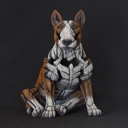 Edge Sculpture - Bull Terrier Red
