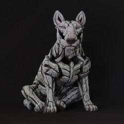 Edge Sculpture - Bull Terrier White NEU
