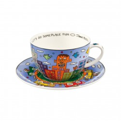 James Rizzi - Jumbotasse Let's Go Out For Fun  NEU