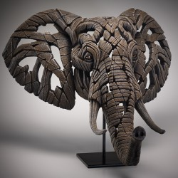 Edge Sculpture - African Elephant NEU