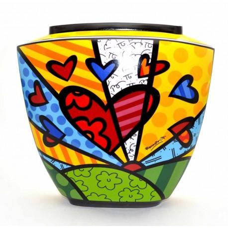 Britto - Vase A New Day