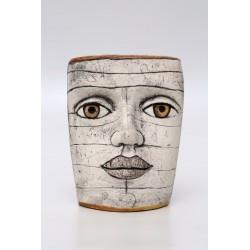 U. Völkl-Fischer - Maske weiss