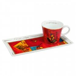 Coffee Goes Art - W. Kandinsky - Mit und Gegen