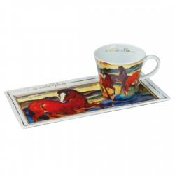 Coffee Goes Art - Franz Marc - Die roten Pferde