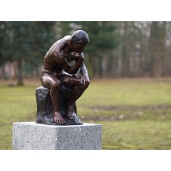 Bronzefiguren - Denker von Rodin