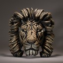 Edge Sculpture - Lion Bust Savannah