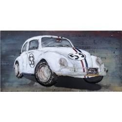 Metallbild - VW-Herbie NEU