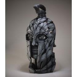 Edge Sculpture - Spartan Bust Slate
