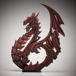 Edge Sculpture - Heraldic Dragon Red NEU