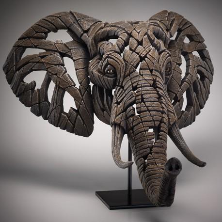 Edge Sculpture - African Elephant NEU