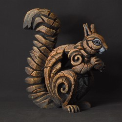 Edge Sculpture - Squirrel Red