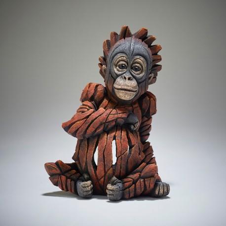 Edge Sculpture - Baby Orang-Utan NEU