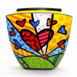Britto - Vase A New Day