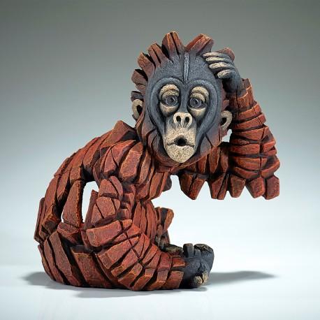 Edge Sculpture - Baby Oh Orangutan NEU