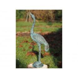 Bronzefiguren - Kleiner Kranich